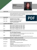 Beltran Resume2013
