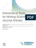 Elements of Style for Journal Articles A4 6Dec