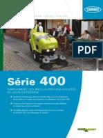 BALAYEUSE ASPIRATRICE SÉRIE 400