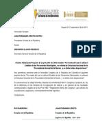 Proyecto de Ley 97 de 2013