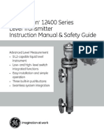 Masoneilan 12400 Digital Level Transmitter and Controller_MANUAL_English