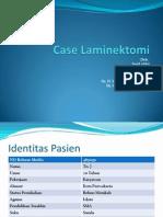 case laminektomi
