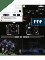 Nikon D3s Brochure