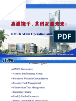 OMCR Main Operation and Practice