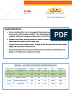 Today's Opportunity Report 3rd 'March,2014