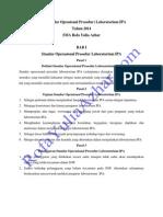 SOP Pengelolaan Laboratroium IPA