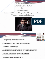 Housekeeping Management Book
