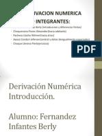 MetodosNumericos-Derivacion Numerica