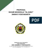 Proposal Musholla Sma9 Yk