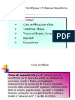 Clase de Trastornos Psicologicos