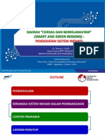 Daerah Cerdas dan Berkelanjutan 1 Maret 2014 - Tatang a. Taufik