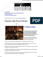 Fascism's Ugly Face in Ukraine _ Veterans Today