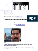 Destabilizing Venezuela Continues _ Veterans Today