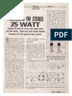 Pemancar Fm Stereo Elex3 Paket7