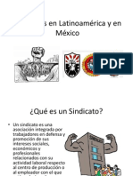 Sindicatos, Conflictos y Negociacion