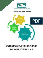 2013-07 Catálogo General de Cursos del DEPR 2013-2014 v.1