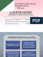 Slide Teknik-teknik Kaunseling
