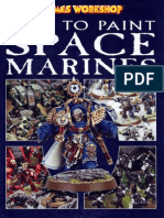 Warhammer 40k - How to Paint Space Marines 2004