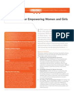 What's Next for Women and Girls