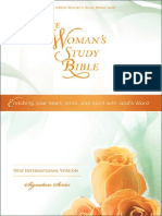 The Woman's Study Bible, NIV