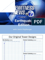 5.4 Eyewitness News Earthquake Report