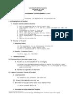 Assignment November 11, 2013