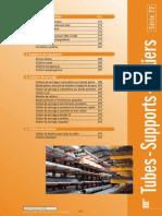 Tube Tole Profile Support Tuyauterie Collier Serrage Fixation Gamme PDF 538 Ko Sup Tuy Lgam1