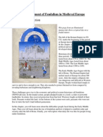 the development of feudalism in medieval europe text