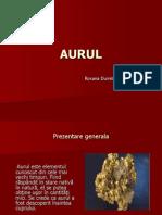 AURUL  Clasa a XII a C