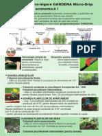 Ghid Pentru Planificarea Si Montarea Sistemului de Micro-irigare GARDENA Micro-Drip