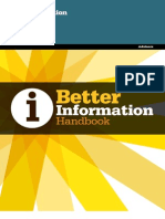 Publication Better Info Handbook