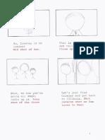 single camera storyboard