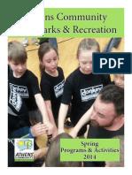 Spring Brochure 2014