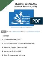 Recursos Educativos Abiertos (REA / OER)