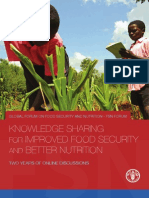 1001 FAO - Knowledge Sharing for Improved Food Security and Better Nutrition FSN (1)