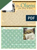 Olsen Newsletter February / March 2014