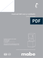 Mabe Centro de Lavado 201202