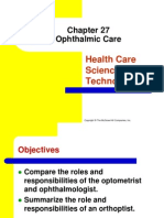 Chapter 27 Ophthalmic Care