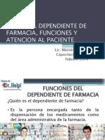 Capacitacion No.1 Dependiente de Farmacia Feb2014
