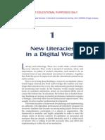 5th Week - New Literacies in a Digital World