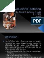 3. Evaluación Nutricional