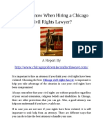 Chicago Civil Rights Lawyer