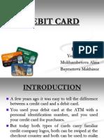 Debet Card