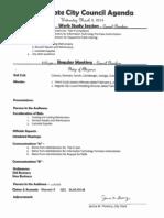 Southgate City Council agenda 3-5-14