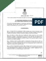 Resolucion 3180 de 2008