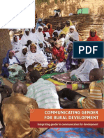 Communicating Gender for Communities