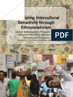 intercultural sensitivity and ethnorelativism presentation
