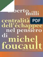 Centralità dell'échappée nel pensiero di Michel Foucault
