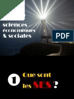 Presentation 2014 de La Filiere ES Aux Eleves de Seconde