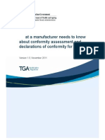 2What a Manufacturer Needs to Know About Conformity Assessment and Declarations of Conformity for IVDs